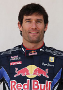 Mark Webber (image courtesy of formula1.com)